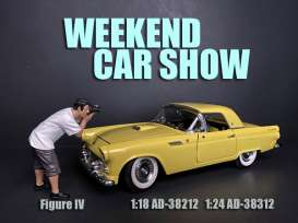 Figures  - Weekend Car Show 2019  - 1:24 - American Diorama - 38312 - AD38312 | The Diecast Company