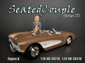 Figures  - Weekend Car Show. 2019  - 1:18 - American Diorama - 38218 - AD38218 | The Diecast Company