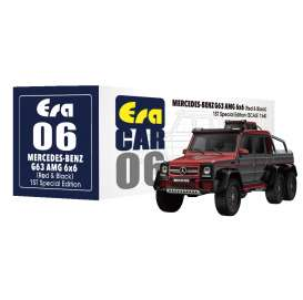 Mercedes Benz  - G63 AMG 6x6 2019 red/black - 1:64 - Era - MB196x6RF06 - Era196x6RF06 | The Diecast Company