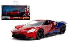 Ford  - GT *Spiderman* 2017 red/blue - 1:32 - Jada Toys - 30291 - jada30291 | The Diecast Company