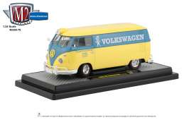 Volkswagen  - 1960 grey/white - 1:24 - M2 Machines - 40300-76B - M2-40300-76B | The Diecast Company