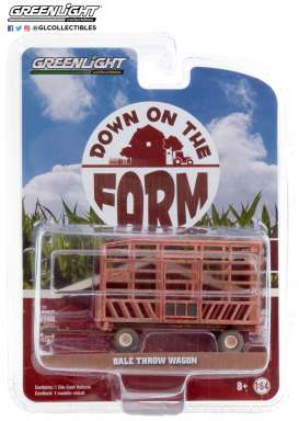 Tractor  - red - 1:64 - GreenLight - 48040F - gl48040F | The Diecast Company
