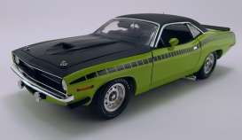 Plymouth  - AAR Cuda 1970 sublime green/black - 1:18 - Acme Diecast - 1806113VT - acme1806113VT | The Diecast Company