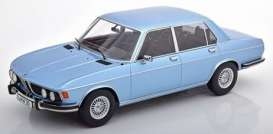 BMW  - 3.0S 1971 light blue metallic - 1:18 - KK - Scale - 180401 - kkdc180401 | The Diecast Company