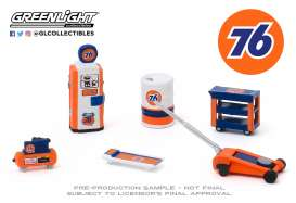 diorama Accessoires - blue/orange - 1:64 - GreenLight - 16040C - gl16040C | The Diecast Company