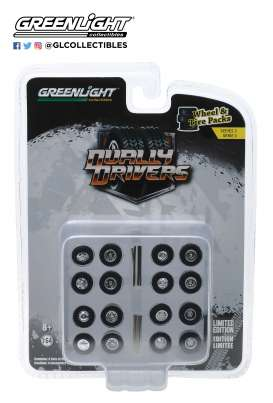 Wheels & tires Rims & tires - 1:64 - GreenLight - 16050A - gl16050A | The Diecast Company