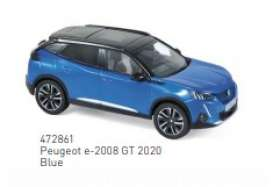Peugeot  - e-2008 GT 2020 blue - 1:43 - Norev - 472861 - nor472861 | The Diecast Company