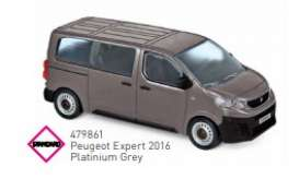 Peugeot  - 2016 grey - 1:43 - Norev - 479861 - nor479861 | The Diecast Company
