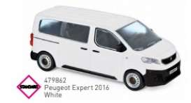 Peugeot  - 2016 white - 1:43 - Norev - 479862 - nor479862 | The Diecast Company