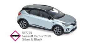 Renault  - 2020 silver/black - 1:43 - Norev - 517775 - nor517775 | The Diecast Company