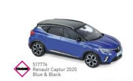 Renault  - 2020 blue/black - 1:43 - Norev - 517776 - nor517776 | The Diecast Company