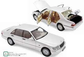 Mercedes Benz  - S320 1997 white - 1:18 - Norev - 183720 - nor183720 | The Diecast Company