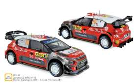 Citroen  - C3 WRC 2018 red/white - 1:18 - Norev - 181631 - nor181631 | The Diecast Company