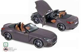 BMW  - Z4 2019 grey matt - 1:18 - Norev - 183270 - nor183270 | The Diecast Company