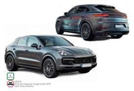 Porsche  - Cayenne 2019 dark grey - 1:18 - Norev - 187670 - nor187670 | The Diecast Company