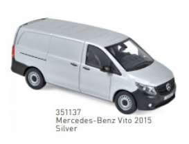 Mercedes Benz  - Vito 2015 silver - 1:43 - Norev - 351137 - nor351137 | The Diecast Company