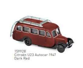 Citroen  - U23 1947 dark red - 1:87 - Norev - 159928 - nor159928 | The Diecast Company