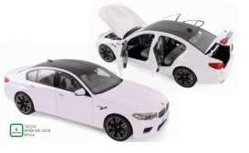 BMW  - M5 2018 white - 1:18 - Norev - 183241 - nor183241 | The Diecast Company