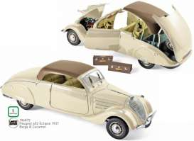 Peugeot  - 1937 beige/caramel - 1:18 - Norev - 184872 - nor184872 | The Diecast Company