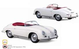 Porsche  - 356 Speedster 1954 white - 1:18 - Norev - 187460 - nor187460 | The Diecast Company