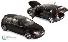 Volkswagen  - Golf GTI 2013 black - 1:18 - Norev - 188550 - nor188550 | The Diecast Company