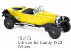 Citroen  - B2 Caddy 1923 yellow/black - 1:43 - Norev - 153173 - nor153173 | The Diecast Company