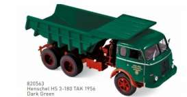Henschel  - 1956 dark green - 1:43 - Norev - 820563 - nor820563 | The Diecast Company