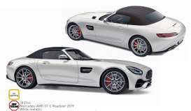 Mercedes Benz  - GTC 2019 white - 1:18 - Norev - 183744 - nor183744 | The Diecast Company