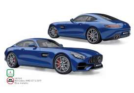 Mercedes Benz  - GTS 2019 blue - 1:18 - Norev - 183740 - nor183740 | The Diecast Company