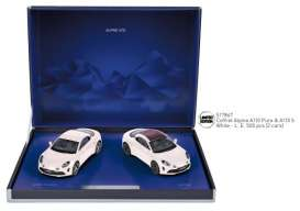 Renault Alpine - white - 1:43 - Norev - 517867 - nor517867 | The Diecast Company