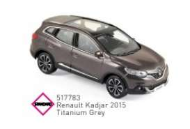 Renault  - Kadjar 2015 grey - 1:43 - Norev - 517783 - nor517783 | The Diecast Company