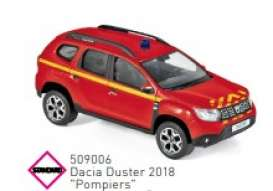 Dacia  - Duster 2018 red - 1:43 - Norev - 509006 - nor509006 | The Diecast Company