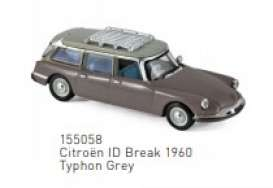 Citroen  - ID Break 1960 grey - 1:87 - Norev - 155058 - nor155058 | The Diecast Company