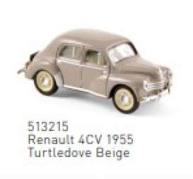 Renault  - 4CV 1955 beige - 1:87 - Norev - 513215 - nor513215 | The Diecast Company