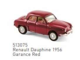 Renault  - 1956 red - 1:87 - Norev - 513075 - nor513075 | The Diecast Company