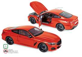BMW  - 850i 2019 orange - 1:18 - Norev - 183285 - nor183285 | The Diecast Company