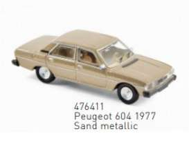 Peugeot  - 1977 sand - 1:87 - Norev - 476411 - nor476411 | The Diecast Company