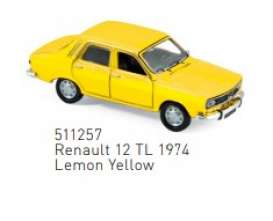 Renault  - 1974 yellow - 1:87 - Norev - 511257 - nor511257 | The Diecast Company