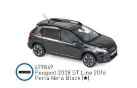 Peugeot  - 2016 black - 1:43 - Norev - 479849 - nor479849 | The Diecast Company