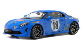 Alpine  - A110 blue - 1:18 - Solido - 1801603 - soli1801603 | The Diecast Company
