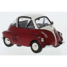 BMW  - Isetta 1955 red/white - 1:43 - IXO Models - CLC312 - ixCLC312 | The Diecast Company