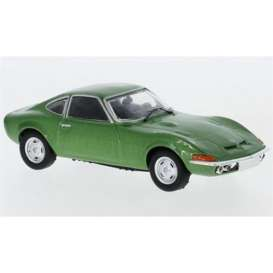 Opel  - GT 1969 green - 1:43 - IXO Models - CLC318 - ixCLC318 | The Diecast Company
