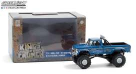 Ford  - F-250 Monster Truck 1974 blue - 1:43 - GreenLight - 88031 - gl88031 | The Diecast Company
