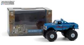 Chevrolet  - K-10 Monster Truck 1972 blue - 1:43 - GreenLight - 88033 - gl88033 | The Diecast Company