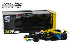 Honda  - 2020 black/yellow - 1:18 - GreenLight - 11076 - gl11076 | The Diecast Company