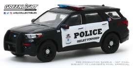 Ford  - 2020 black/white - 1:64 - GreenLight - 30143 - gl30143 | The Diecast Company