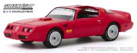 Pontiac  - Firebird 1979 red - 1:64 - GreenLight - 30147 - gl30147 | The Diecast Company