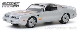 Pontiac  - Firebird 1977 silver - 1:64 - GreenLight - 30148 - gl30148 | The Diecast Company