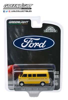 Ford  - 1968 yellow - 1:64 - GreenLight - 30155 - gl30155 | The Diecast Company