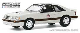 Ford  - Mustang 1979 white/black - 1:64 - GreenLight - 30167 - gl30167 | The Diecast Company